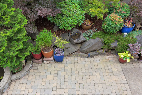 Patio Concrete Pavers