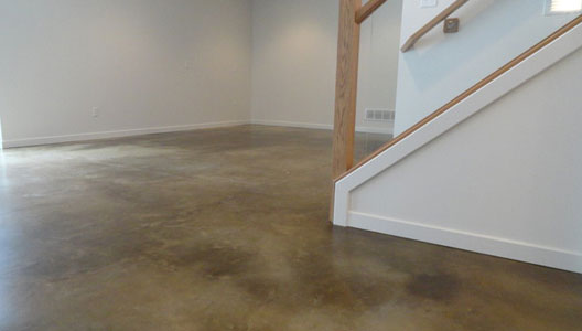 Polished Concrete Basement Floors